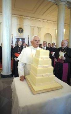 Torta Benedicto XVI