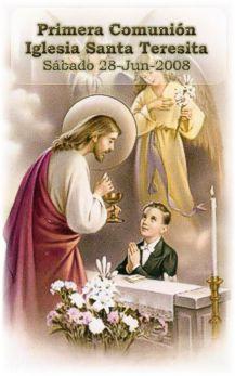 Primera Comunión Iglesia Santa Teresita