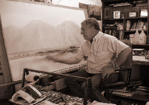 Jesús Armando Villalón, el pintor de las brumas
