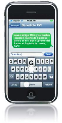 SMS Benedicto XVI