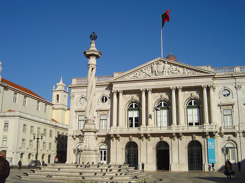 Praça do Municipio - Lisboa