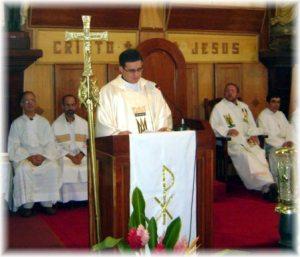 Primera Misa del Padre Manuel Enrique Materán