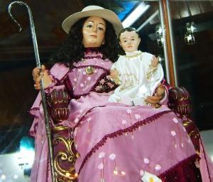 Divina Pastora en la Iglesia Santa Teresita