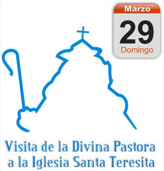 Visita de la Divina Pastora a la Iglesia Santa Teresita