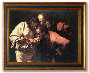 Incredulidad de Santo Tomás - Caravaggio