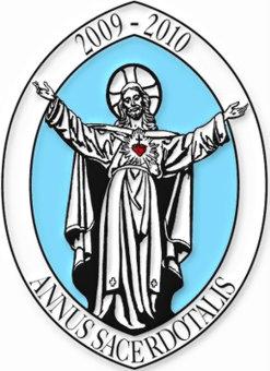 Año Sacerdotal Logo