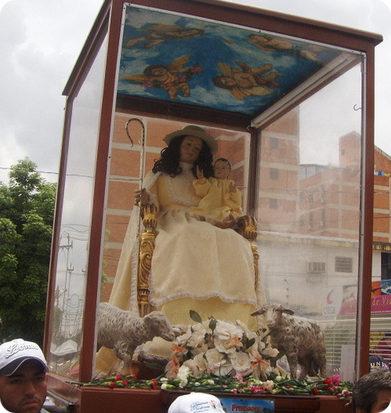 Visita de la Divina Pastora 2012